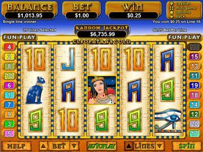 Jackpot Cleopatras Gold Slots