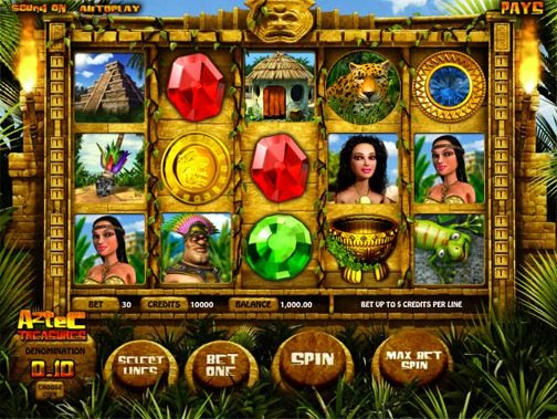 Aztec Treasures Slot
