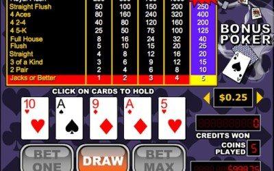 Bonus Poker – Video Poker