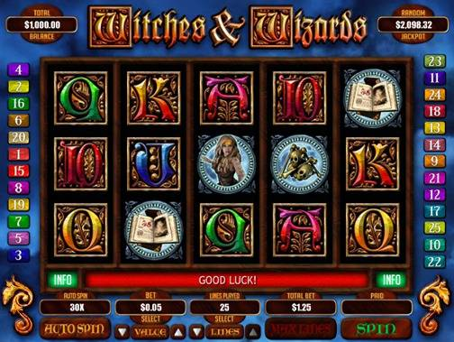 Witches & Wizards Slot