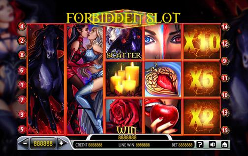 Forbidden Slot Game